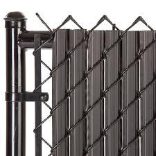 Maximum Privacy Black Solitube Slats For 4ft Chain Link Fence Walmart Com Walmart Com