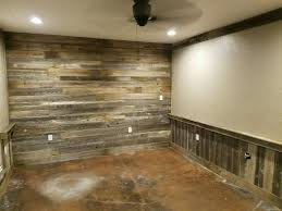 Remodel Repurposed Old Wood Fence Panels For A Accent Wall And Chair Railing Chairrail Old Fence Wood Repurposed Fence Panels Wood Fence