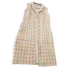 multicolor pastel t vest dress
