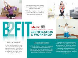 born2fit pre postnatal exercise
