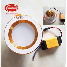 Đèn Led âm trần Sasimi 5W ánh sáng vàng - phi 90mm