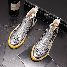 2020 Luxury Britain Designer New Men Silver Badge Decal Causal Shoes Platform Prom High Top Shoes Moccasins Rock Loafers For Man Womens Sandals Comfortable Shoes From Supertradefactory 48 43 Dhgate Com