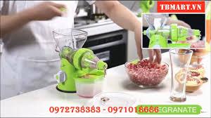 Máy Ép Trái Cây Bằng Tay - Máy Xay Thịt Bằng Tay 2in1 - Máy Ép Hoa Quả và  Xay Thịt Đa Năng - YouTube