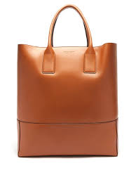 oversized leather tote bag bottega