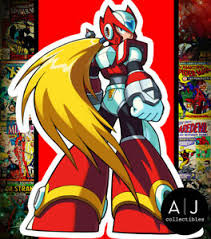Zero Mega Man X Sticker Anime Action Pose Vinyl Sticker Decal Ebay