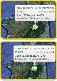 Con epicentro in provincia di Vibo il terremoto in Calabria ...