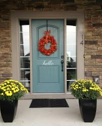 Hello Front Door Vinyl Decal Wall Art Decor Sticker Black Or White 4 X 10 For Sale Online Ebay