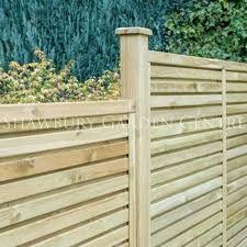 Grange 1 2m Contemporary Vogue Fence Panel