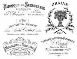 Vintage French Advertising Labels Furniture Transfers Waterslide Decals Mis571 Ebay
