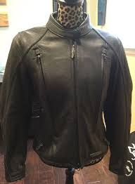 fxrg black leather jacket