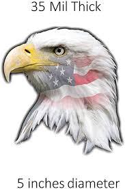 Amazon Com U S American Flag Eagle Head Magnet 3 Weather And Uv Resistant Furniture Decor