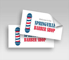 Barbershop Decals Barber Decals Signazon