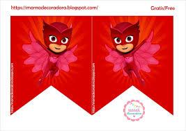Mama Decoradora Kit Imprimible Gratis Pj Masks