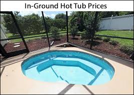 in ground hot tub cost guide 2020