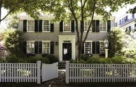 Pin By Brittany Campbell On Exterior Inspiration White Exterior Houses House Exterior Colonial House
