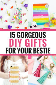 diy gifts for your best friend