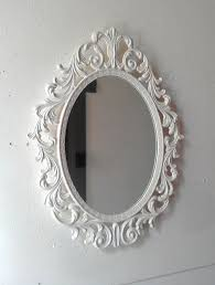 decorative vintage oval wall mirrors