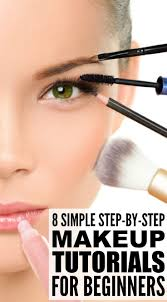 8 step by step makeup tutorials for