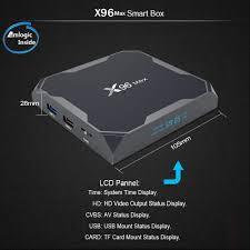 X96 MAX Black 4GB DDR4+32GB ROM EU PLUG TV Box Sale, Price & Reviews
