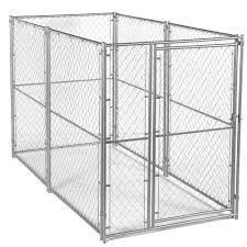 Lucky Dog 6 Ft H X 5 Ft W X 10 Ft L Modular Chain Link Kennel Kit Cl 46150 The Home Depot