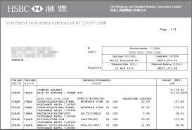 hong kong company credit card