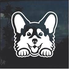 Super Cool Corgi Peeking Dog Window Decal Sticker Check It Out Here Https Customstickershop Us Shop Corgi Peeking Dog Window De Dog Window Corgi Dog Peeking