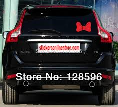 Cute Girl Mickey Mouse Bow Tie Hello Kitty Bow Sticker Vinyl Decal For Car Bumper Window Cool Kittyhit