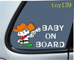 2020 Gun Kids Kid On Board Baby On Board Car Sticker Decal Goodlooking Car Decal Vinyl Sticker Wall Funny Stickers Reflective Silver From Mysticker 5 03 Dhgate Com