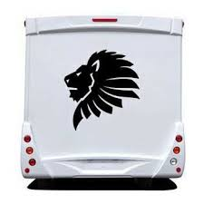 African Lion Camping Car Sticker