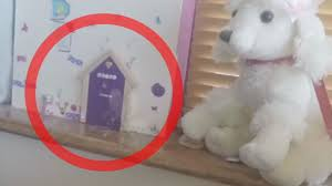 Real Fairy Caught On Camera Collecting Key From Fairy Door Youtube