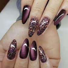 burgundy nails ideas nail polish