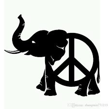 2020 Wholesale Vinyl Decals Car Stickers Glass Stickers Scratches Stickers Wall Die Cut Bumper Accessories Jdm Peace Elephant From Zhangmin771215 25 13 Dhgate Com