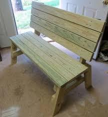 diy 2x4 bench sweet pea