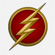 The Flash Logo The Flash Logo Wall Decal Flash Television Superhero Sticker Png Pngwing