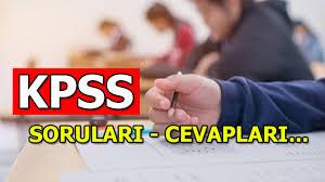 KPSS soruları - cevapları 2020 açıklandı mı? KPSS Lisans - Genel  Yetenek/Kültür - Eğitim Bilimleri sonuçları ne zaman açıklanacak? -  Milliyet - Haber Ofisi