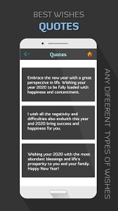 happy new year best wishes quotes for android apk