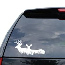 For Deer Family Buck Hunting Decal Sticker Car Truck Motorcycle Window Laptop Wall Decor Car Styling Car Stickers Aliexpress