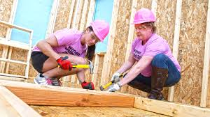 Pay it forward: Ericka Smith helps build homes through Habitat