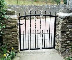 manor heavy duty garden metal gate 36