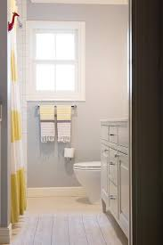yellow and grey kids bathroom