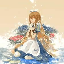 Alice in Wonderland- Alice   イラスト, かわいい, 童話