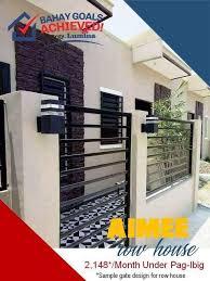 Design Number 4 Sample Fence Design Lumina Homes Philippines Facebook