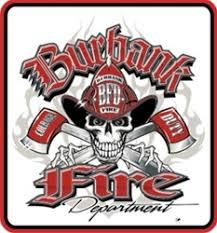 Burbank Fire Department T Shirts Hoodies Car Window Decal