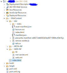 deploy react applications in a servlet