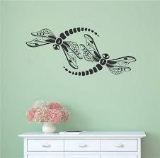 Ebern Designs Dragonflies Vinyl Wall Decal Wayfair
