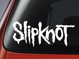 2020 Car Styling For Vinyl Decal Slipknot Logo White Car Window Wall Laptop Sticker From Redchinatown 1 01 Dhgate Com