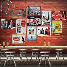 Vintage Metal Sign Tin Plaque Coca Cola Wall Decals Sticker Signs For Home Bar Pub Retro Poster Wish
