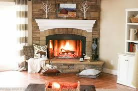 late fall mantel with a metal photo print