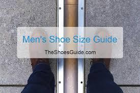 shoe size guide conversion chart