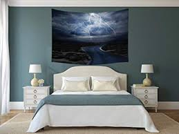 tapestry wall hanging lake house decor